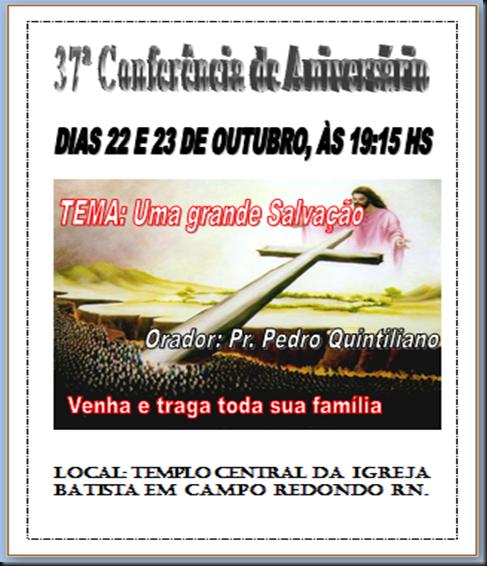 conferencia batista