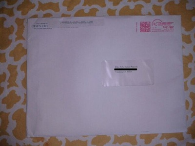 envelope redacted