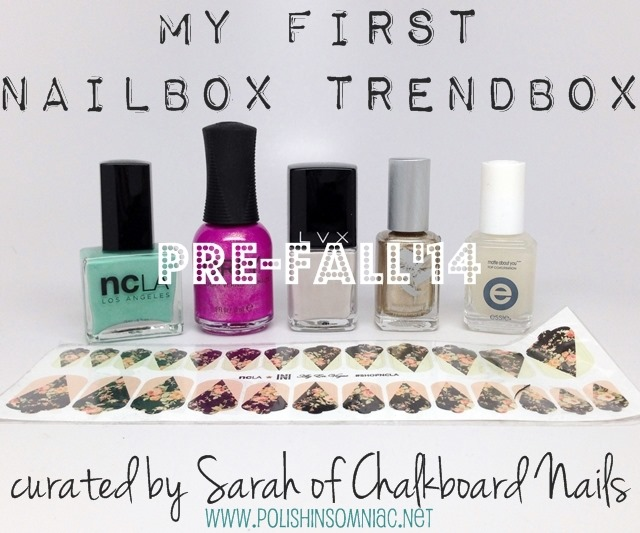 Nailbox Trendbox Pre-Fall 2014