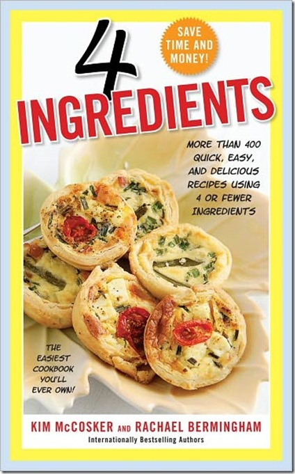 4 Ingedients Cookbook
