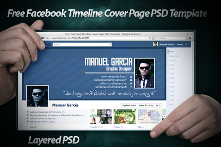 free facebook cover page