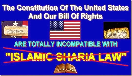 Constitution-Bill of Right NOT Compatible Islam