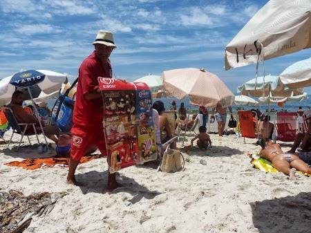 Carnavalul de la Rio:  Inghetata, sucuri, apa minerala, cine mai doreste