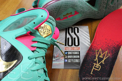 nike lebron 9 ps elite statue of liberty pe 3 12 Nike LeBron 9 PS Elite Statue of Liberty PE Has a Twin!
