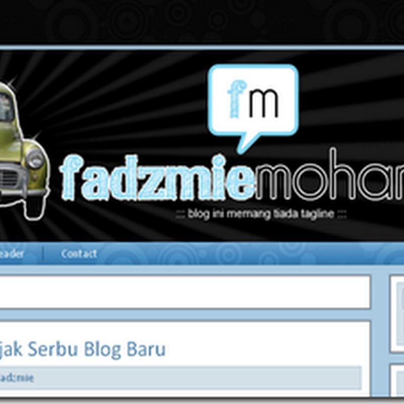 Blog Lelaki Segmen Serbu Blog # 2