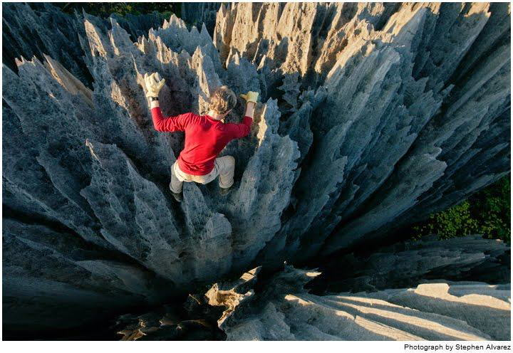 Stone Forest of Madagascar known as Tsingy