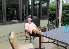 1307144 July 27 Terry Enjoying The Patio