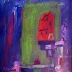 """Purple Vessels"" Acrylic"