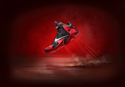 nike lebron 11 gr black red 6 16 nike inc Nike Introduces LEBRON 11 & Revolutionary Hyperposite Technology