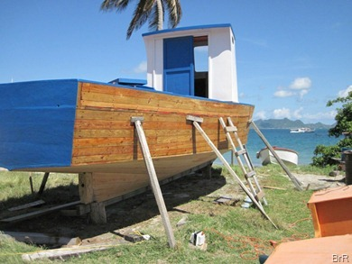 Petite_Martinique_Bootsbau