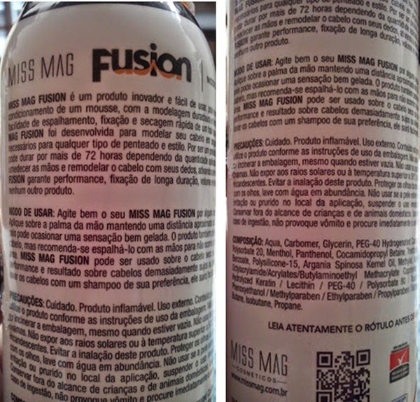 composição Fusion Miss Mag