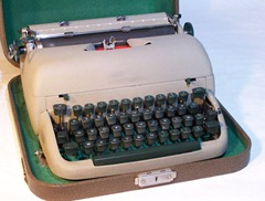 portable typewriter