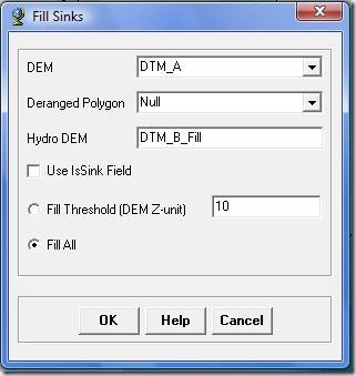 F5. Ventana Fill Sinks