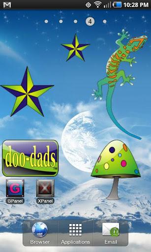 NavStar doo-dad blue green