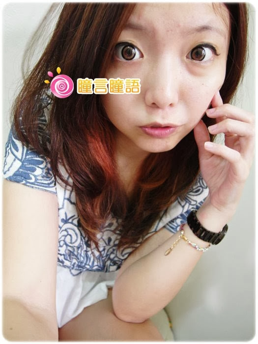 日本EOS隱形眼鏡-3D棒棒糖咖SAM_4777