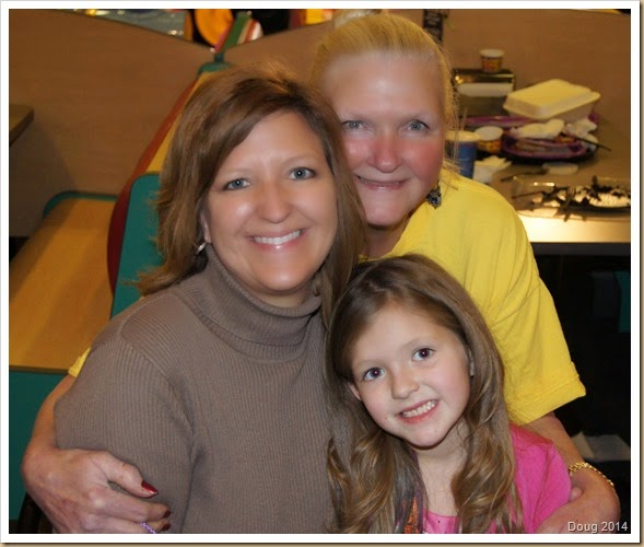 Dolly, Kristi and Erin