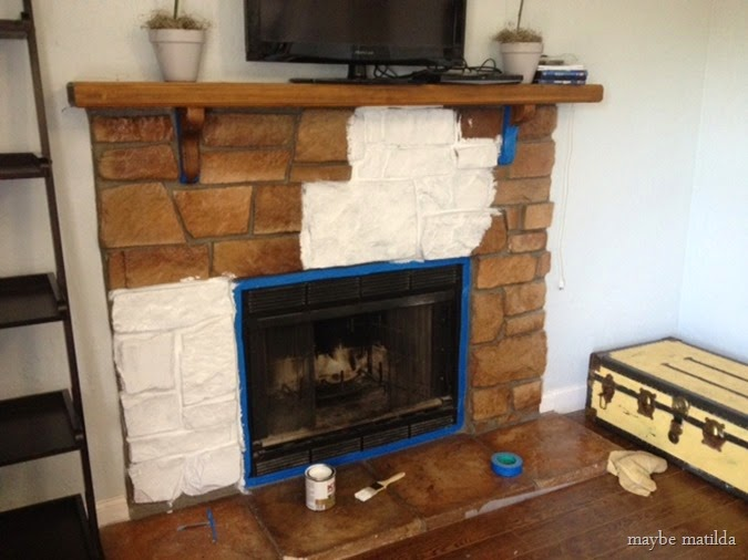 diy in built ten makeover fireplace makeovers top stone remodelaholic with shelves best on