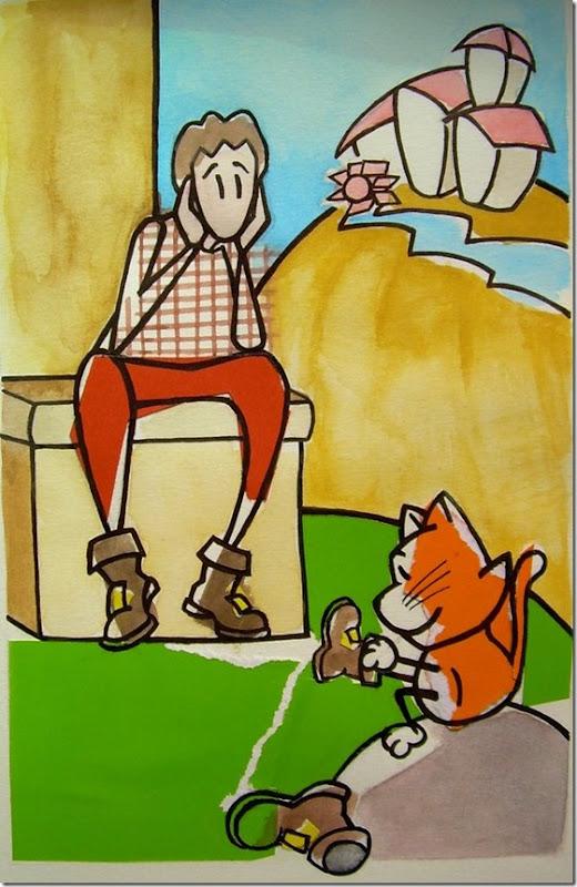 El Gato con Botas,El gato maestro,Cagliuso, Charles Perrault,Master Cat, The Booted Cat,Le Maître Chat, ou Le Chat Botté (37)