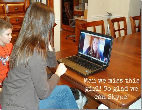 Skyping