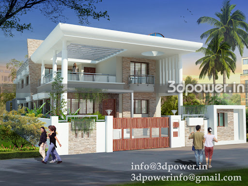 Bungalow House Designs in India