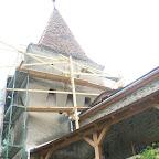 Englezi care lucreaza la restaurari in Sighisoara