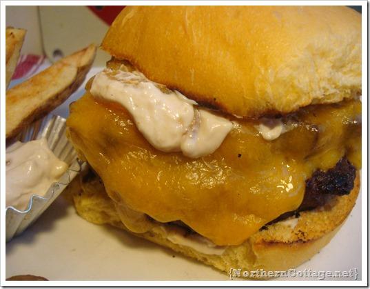 {NorthernCottage} saucy sassy burger recipe