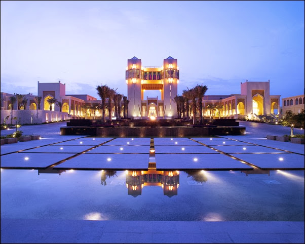 The Squares - Inside Al Areen Palace and Spa
