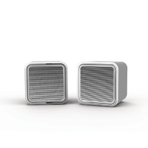 iLuv iSP160SIL Amplified Compact Stereo Speakers