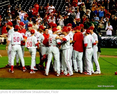 'Phillies Win The NL East' photo (c) 2010, Matthew Straubmuller - license: http://creativecommons.org/licenses/by/2.0/