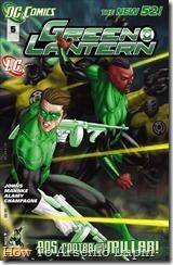 P00009 - Green Lantern #5 - Sinest