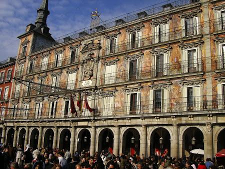 Obiective turistice Madrid: Plaza Mayor