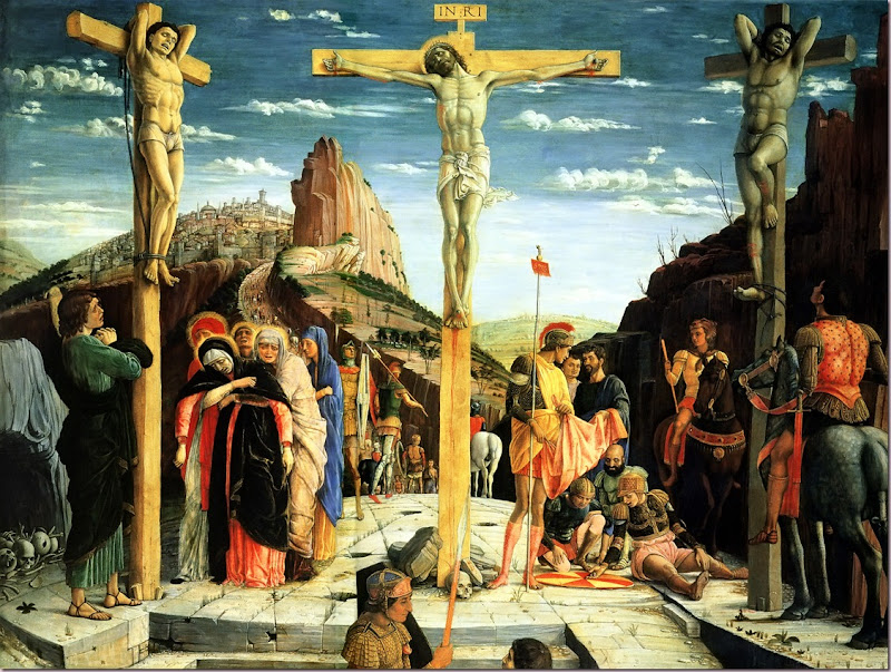 The Crucifixion by Andrea Mantegna 1457-51459