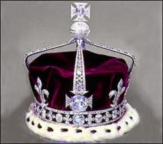 Corona de la reina Isabel (la reina madre) - joyas del Reino Unido
