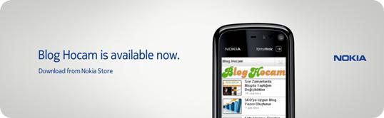 Blog Hocam Nokia Uygulaması