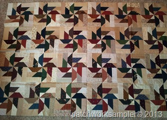 Design Wall Monday-Scrap Basket Surprise Quilt