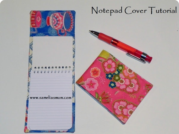 Notepad Cover {Tutorial}