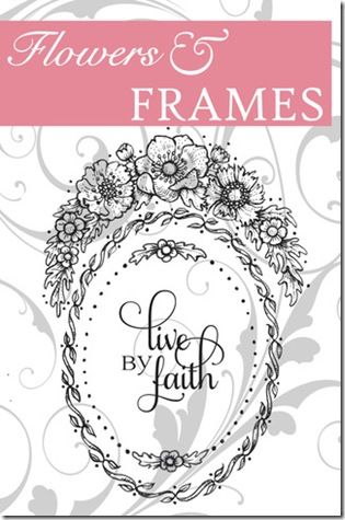 Flowers and Frames Graphic