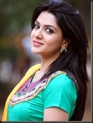 Sakshi Choudhary New Photos in Cyan Blue Chudidar
