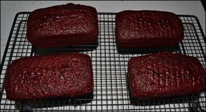 red velvet cake cooling rack