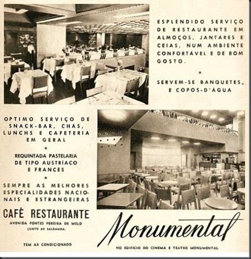 1961 Café Restaurante Monumental