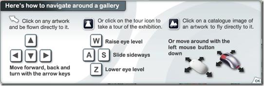exhibbit navigation