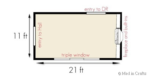 Living room layout dilemma mad in crafts for 10 x 11 living room layout