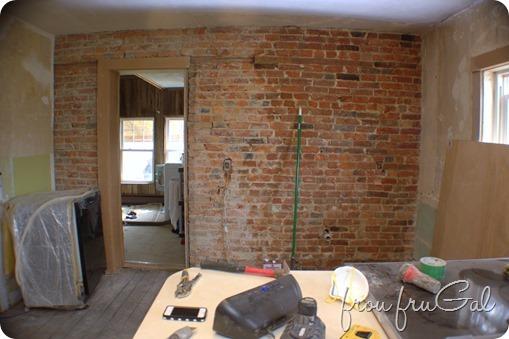 Sealing Exposed Brick Wall