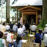 福井県・樺八幡(かばはちまん)神社の収穫祭り。
