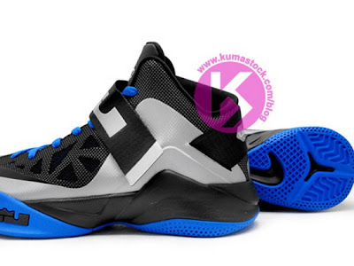 nike zoom soldier 6 gr grey black blue 1 06 Upcoming Nike Zoom Soldier VI (6) Wolf Grey/Black Photo Blue