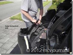 Sandero parkeersensoren inbouwen 11