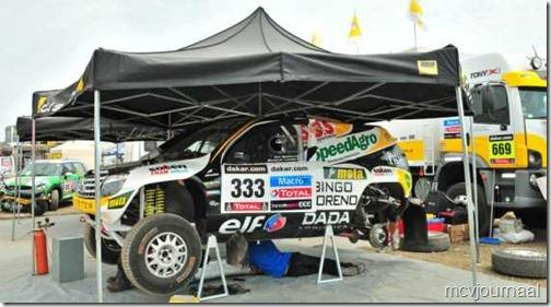 Dakar Rally Renault Duster 12