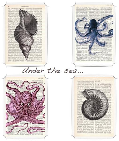 Prrint under the sea