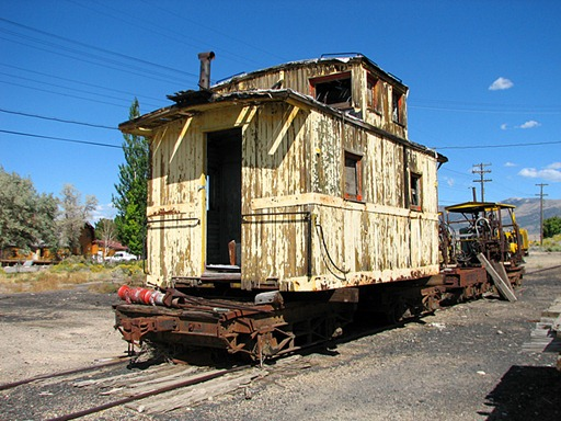 Bopper Caboose Northern Nevada RR