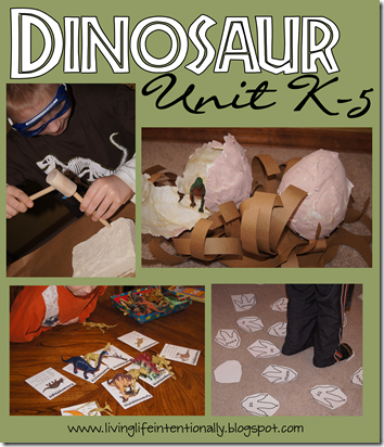Fun, hands on Dinosaur unit for elementary kids #science #homeschooling